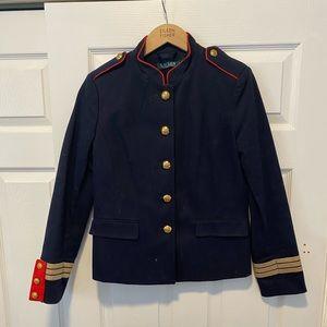 Ralph Lauren Officer's Jacket (Navy) Coat